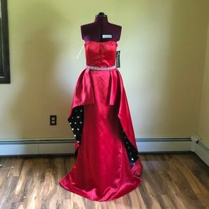 Sherri Hill Dress 52054 (Red) Size 8 (NEW)